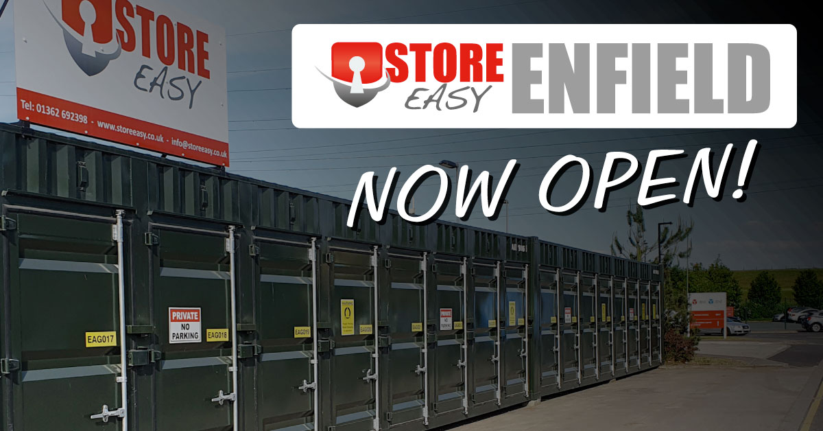 Our New Enfield Site is open!